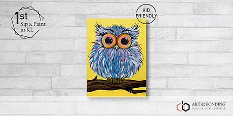 Sunday Sip & Paint : Happy Owl tickets