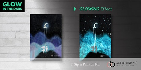 Glow Sip & Paint : Glow - You Are My Moon & Star tickets
