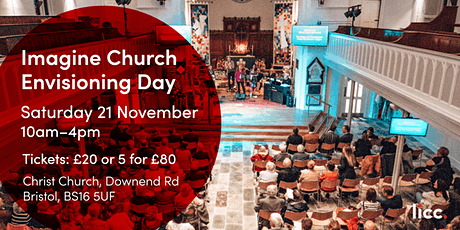 Imagine Church Envisioning Day - Bristol tickets