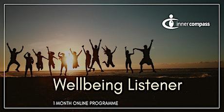 Wellbeing Listener Foundation: July tickets