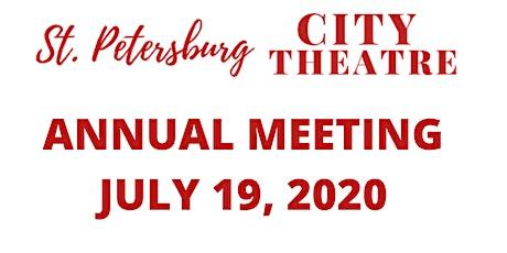 St Petersburg City Theatre 2020 Annual Membership Meeting tickets
