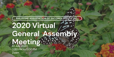 Philippine Association of Entomologists, Inc. General Assembly Meeting