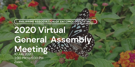 Philippine Association of Entomologists, Inc. General Assembly Meeting tickets
