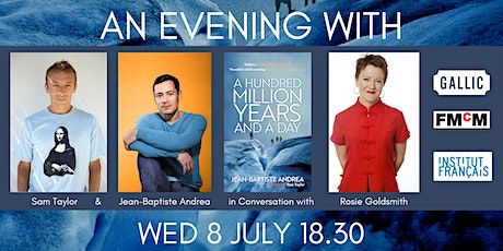 An evening with Jean-Baptiste Andrea and Sam Taylor. tickets