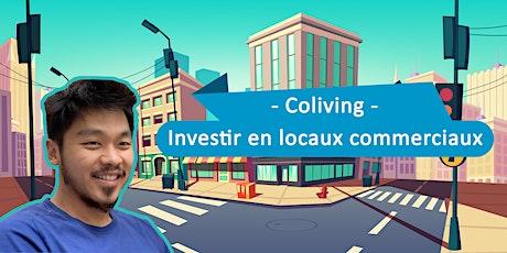 Coliving - Investir en Locaux Commerciaux billets