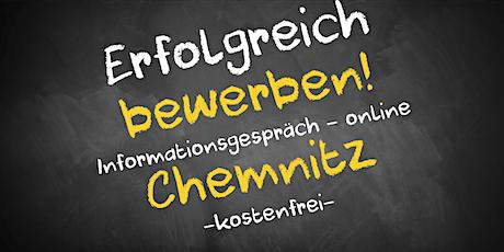 Bewerbungscoaching Online kostenfrei - Infos - AVGS Chemnitz Tickets