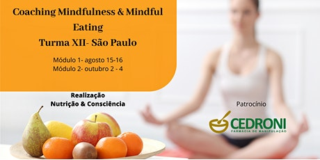 Coaching de Mindfulness e Mindful Eating -SP Turma XII ingressos
