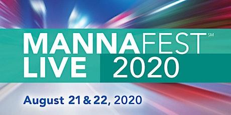 MannaFest LIVE 2020 tickets