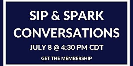 Sip & Spark Conversations - Chicago tickets