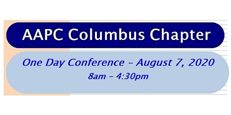 2020 AAPC Columbus, Ohio One Day Conference tickets