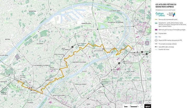 Image pour Les ateliers piétons du Grand Paris. 2e jour de marche.