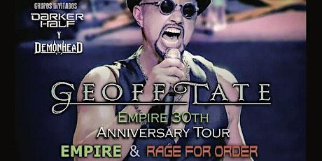 APLAZADO/CAMBIO DE FECHAS Y SALA Geoff Tate-Empire 30th anniversary tour entradas