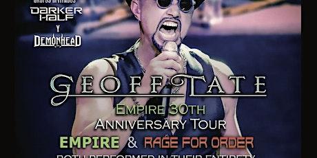 APLAZADO/CAMBIO DE FECHAS Geoff Tate-Empire 30th anniversary tour entradas