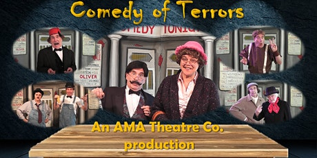 Comedy of Terrors Murder Mystery tickets