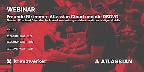 Webinar: Freunde für immer! Atlassian Cloud und die DSGVO Tickets