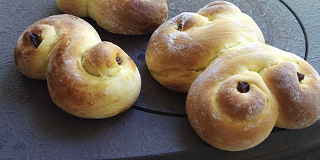 BreadinFife online workshop - St. Lucia  buns & scones - at home tickets
