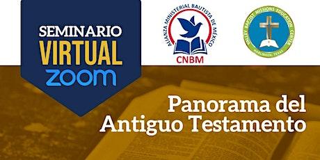 Panorama del Antiguo Testamento - Certificado de Estudios Bíblicos entradas