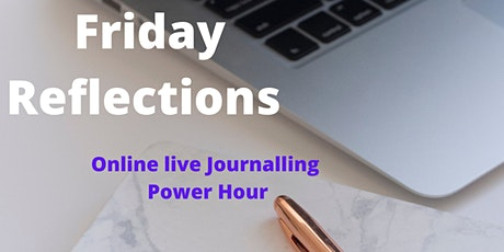 Friday Reflections - Live journalling power hour tickets
