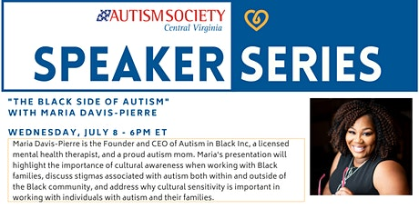 ASCV Speaker Series - The Black Side of Autism tickets