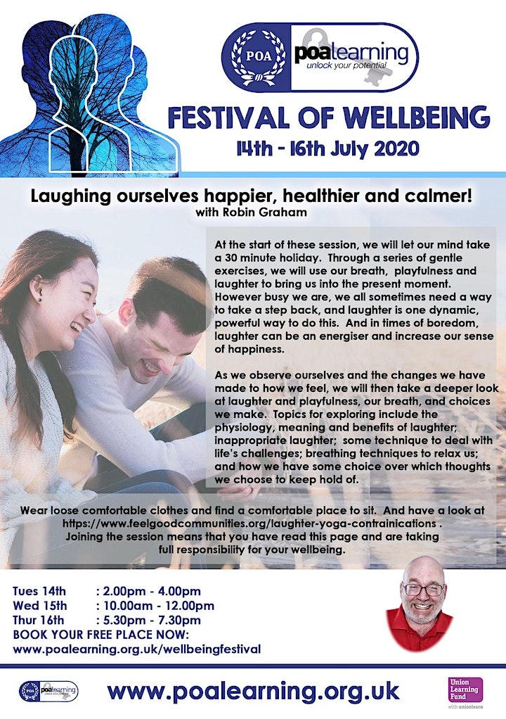 Laughter Yoga with Robin Graham image