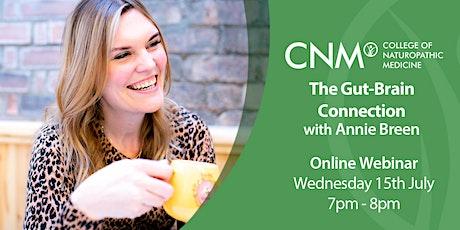 CNM Online Health Talk - Gut-Brain Connection tickets