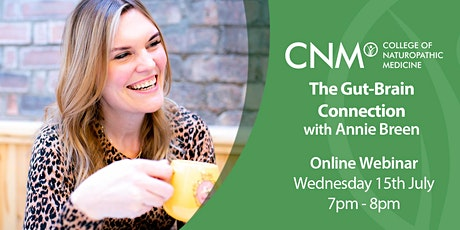 CNM Online Health Talk - Gut-Brain Connection IE tickets