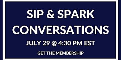Sip & Spark Conversations - Boston tickets