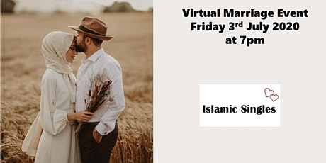 Single Muslim ProfessionalsOnline Virtual Marriage Networking Event tickets
