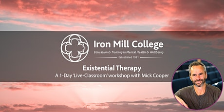 Existential Therapy Workshop with Mick Cooper (1-Day) tickets