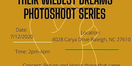 Their Wildest Dreams Photoshoot series tickets