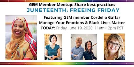 GEM Meetup: Meet your Members! tickets