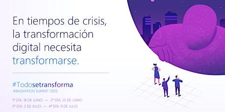 Innovation Summit #TodoSeTransforma entradas