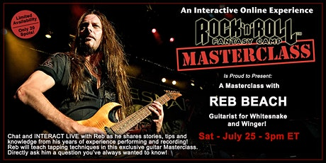 Guitar Masterclass with Reb Beach! tickets