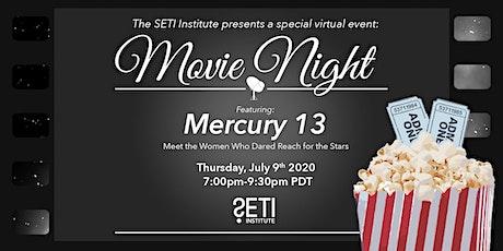 Virtual Movie Night with the SETI Institute - Mercury 13 Tickets