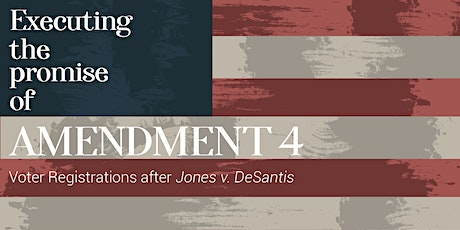 North Florida Convening on Amendment 4 tickets