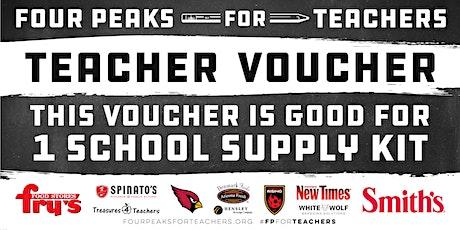 Four Peaks For Teachers Teacher Kit Pickups - Spinato's (Bell Road) tickets