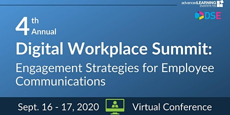 4th Annual Digital Workplace Summit-VIRTUAL tickets
