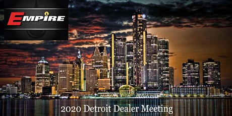 2020 Detroit MI Dealer Meeting tickets