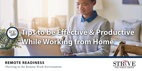Tips to be Effective & Productive While Working from Home tickets