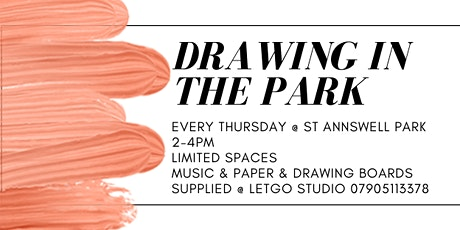 Drawing in the Park tickets