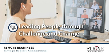 Leading People through Challenge and Change tickets