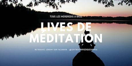 Lives de méditation billets