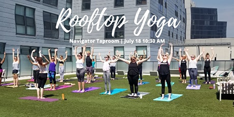 Rooftop Yoga  & Brunch tickets