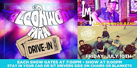 Lucas Minor Band and Wasted Highway Drive-in Concert at Falconwood Park tickets
