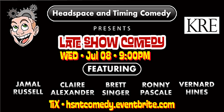 Headspace and Timing Comedy Stand Up Comedy Show tickets