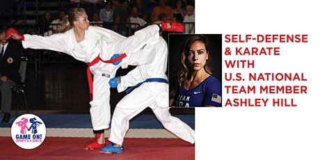 Online Karate & Self Defense Session w/USA Karate Team Member Ashley Hill tickets