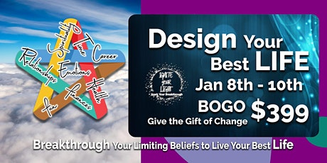 Design Your Best Life! BOGO tickets