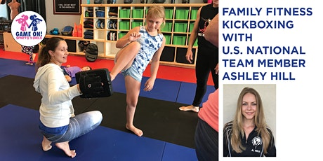 Family Fitness Kickboxing with USA Karate Team Member Ashley Hill Online tickets