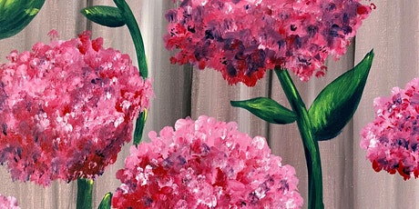 Virtual Painting Hydrangeas tickets