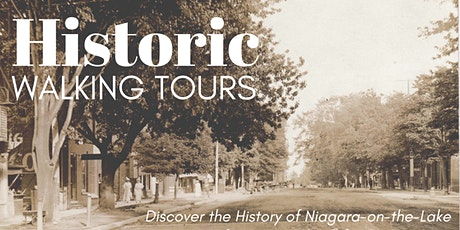 Historic Walking Tours of Niagara-on-the-Lake tickets